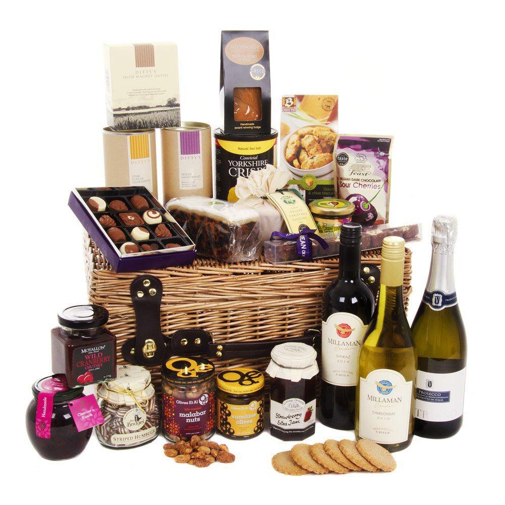 Give the gift of luxury food hampers | Shopping Spot