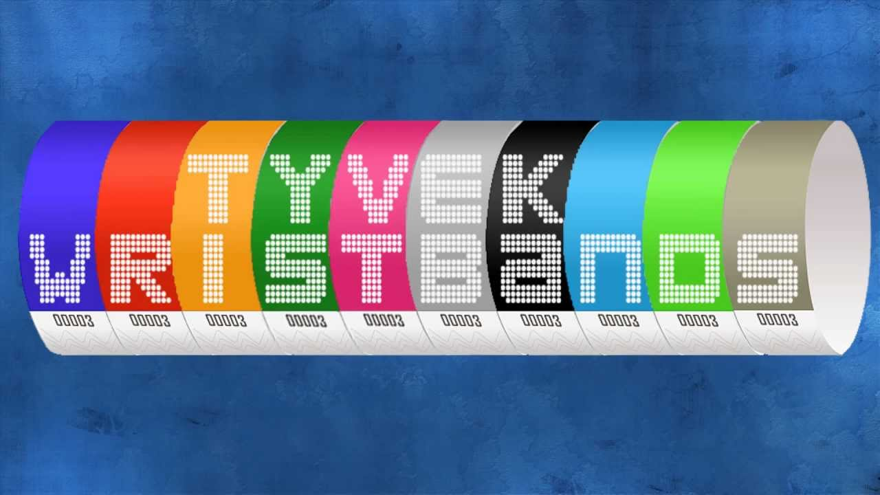 Do You Love Wearing Wristbands? Try Out Amazing Tyvek Wristbands